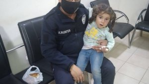 Kaybolan Suriyeli çocuğu zabıta buldu