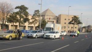 Kayseri'de polis ekiplerinin denetimleri sürüyor