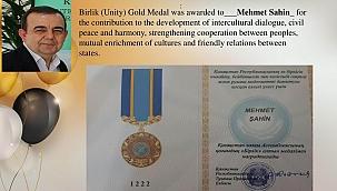 Kazakistan'dan ÇOMÜ'ye altın madalya