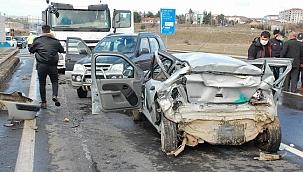 Keşan'da zincirleme kaza: 1 ölü