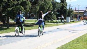KOBİS'in pedalları 12 milyon 275 dakika sağlık için çevrildi