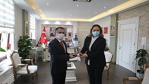 Kosova Cumhuriyeti İstanbul Başkonsolosu'ndan Vali'ye Ziyaret
