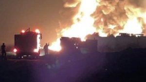 Lübnan'da akaryakıt deposunda patlama: 10 yaralı
