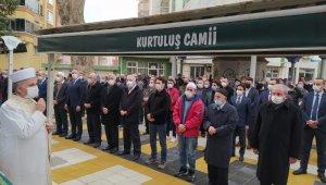 Meclis Başkanı Şentop, arkadaşının cenazesine katıldı