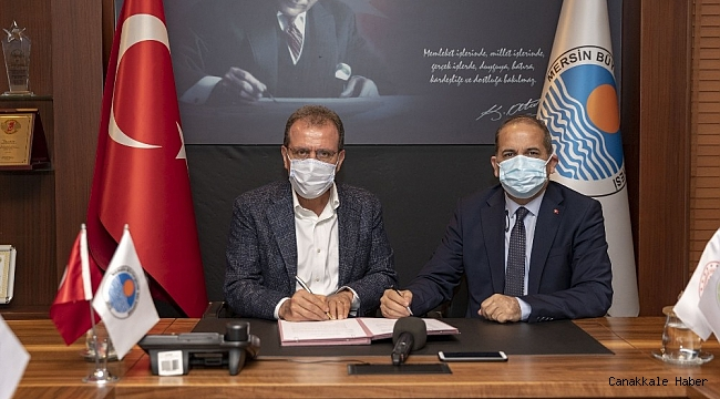 Mersin Büyükşehir Belediyesi ile ÇKA arasında iki protokol imzalandı