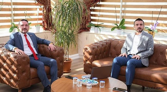 """Milletvekili Ödünç: """"Başkan Tanır, Türkiye'nin 2023 vizyonuna uygun çevre ve şehircilik projelerini hayata geçiriyor"""""""