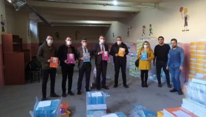 Milli Eğitim Bakanlığından Hakkari'deki öğrencilere kitap desteği