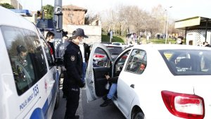 Okmeydanı'nda özel harekat polisi desteli dev uygulama