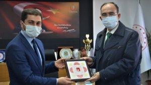 Rektör Prof. Dr. Şükrü Beydemir, kurum müdürlerini ziyaret etti