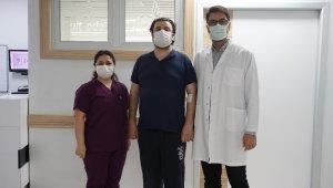 Sağlık çalışanı bel fıtığından ANKA'da kurtuldu