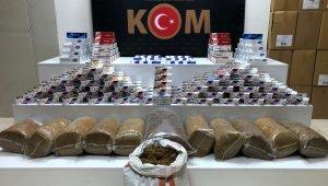 Samsun'da kaçak tütün mamulleri operasyonu