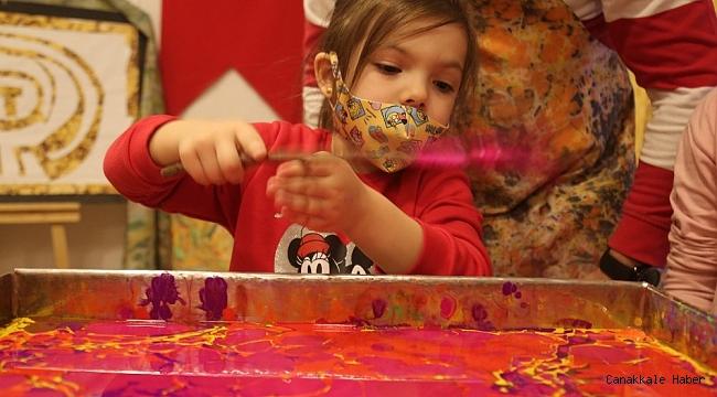 Şanlıurfa'da çocukların hayal gücü gelişiyor