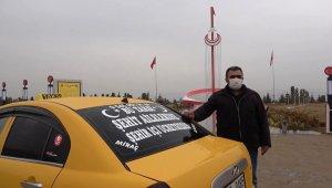 Şehit ailelerine ücretsiz taksi