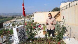 Şehit Emniyet Müdürü Altuğ Verdi'nin Mersin'deki mezarı boş kalmıyor
