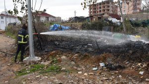 Sinop'ta çöp yangını korkuttu