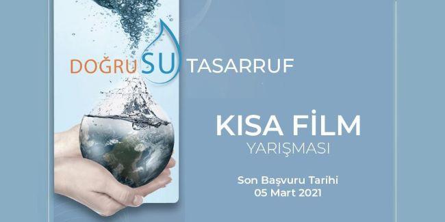 'Su Tasarrufu' konulu kısa film yarışması başlıyor