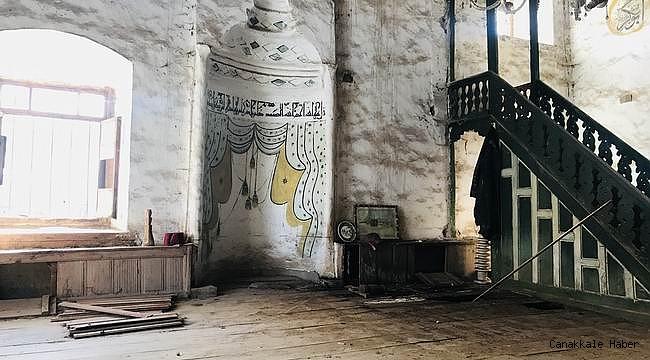 Tarihi caminin restorasyonu için ödenek bekleniyor