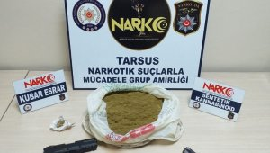 Tarsus'ta iş yerinde kumar oynayan 4 kişi suçüstü yakalandı