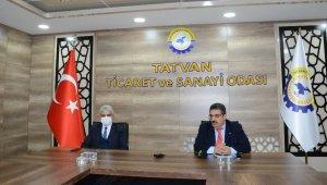 """Tatvan'da """"Tarıma Dayalı Ekonomik Yatırımların Desteklenmesi"""" toplantısı"""