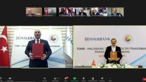 TOBB ve Halkbank'tan 'Paraf Ticari Kredi Kartı ile Güvenceli Tedarik Zinciri Finansmanı' anlaşması