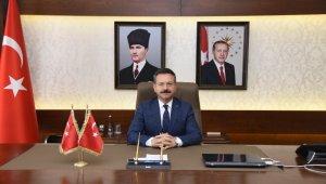 """Vali Aksoy; """"Basın, demokrasinin temel unsurlarından biridir"""""""