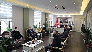 Vali Aktaş, MHP İl Yönetimini Kabul Etti