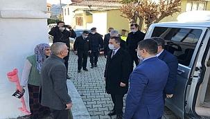 Vali Aktaş şehit ve gazi ailelerini ziyaret etti