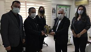 Vali İlhami Aktaş ÇAMAD'ı ziyaret etti