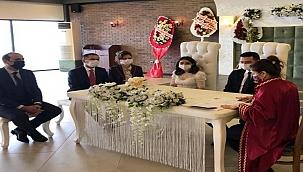 Vali İlhami Aktaş nikah şahidi oldu