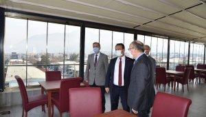Vali Karadeniz yeni baro binasını inceledi