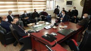 Vali Makas, milletvekilleriyle birlikte ziyaretlerde bulundu
