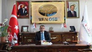 Van OSB Başkanı Aslan gazeteciler gününü kutladı