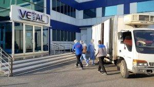 Yerli aşı üreten firmanın çalınan malzemeleri teslim edildi