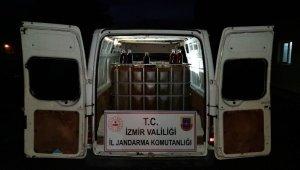 Yol kontrolü sırasında durdurulan araçtan 3 bin litre kaçak akaryakıt ele geçirildi