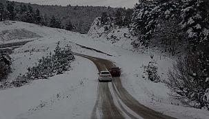 Yüksek bölgelerde kar etkili oluyor