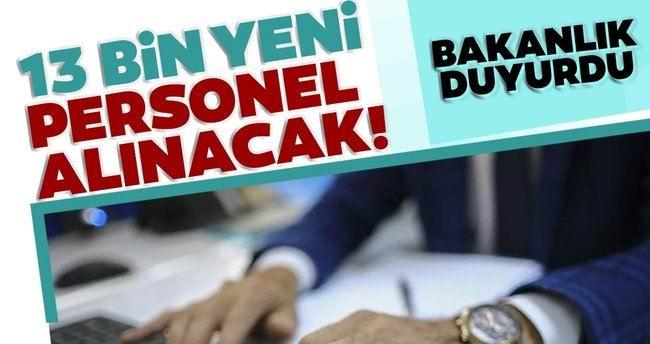 """Adalet Bakanlığından yeni açıklama: """"13 bin 202 yeni personel alıyoruz"""""""