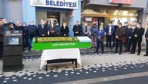 AK Parti Çan Meclis Üyesi toprağa verildi