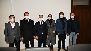 AK Parti ve İl Meclis üyeleri Çan'da bir araya geldi