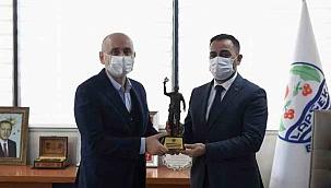 Bakan Karaismailoğlu, Başkan Erdoğan ile buluştu