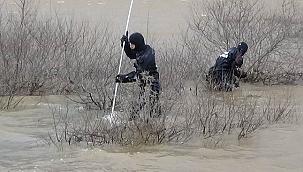 Barajda arama çalışmalarına ara verildi