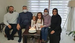 Başkan Elbi'den doğum günü sürprizi