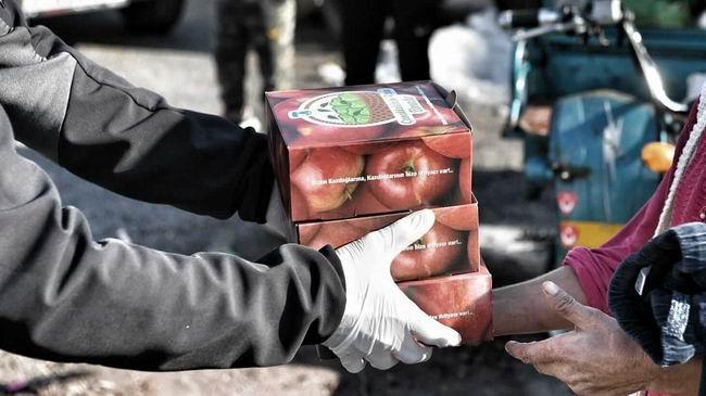 Başkan Gökhan'dan elma üreticileri İçin destek çağrısı