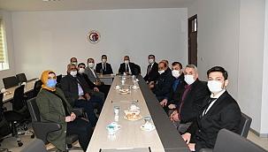 Başkan Turan, AK Parti ve MHP Gökçeada teşkilatları ile bir araya geldi