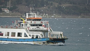 Beklenen kar yağışı nedeniyle ada seferleri iptal edildi