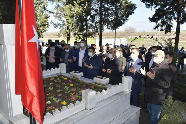 Bigalı Mehmet Çavuş, vefatının 57.yılında saygıyla anıldı
