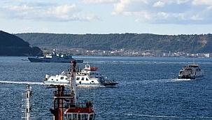Boğaz yeniden gemi trafiğine açıldı