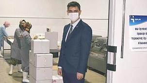 Çanakkale İşkur'dan Kobak süt ürünleri firmasına ziyaret