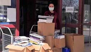 ÇASİAD'dan ÇÖMÜ kütüphanesine kitap bağışı