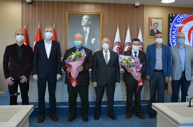 ÇOMÜ Devlet Konservatuarı'nda devir teslim töreni