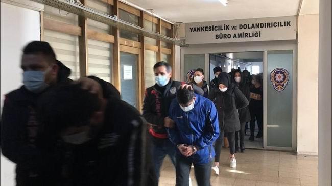 Duyguları istismar eden dolandırıcıların 7'si tutuklandı